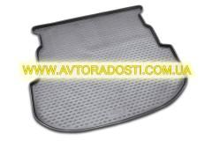 Коврик в багажник для Mazda 6 '08-12 универсал, полиуретановый (Novline / Element) черный EXP.NLC.33.13.B12