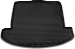 Коврик в багажник для Kia Carens '13- (7 мест), полиуретановый (Novline / Element) черный