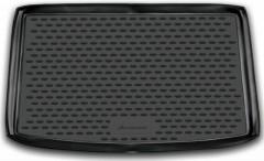 Коврик в багажник для Suzuki SX4 '10-14 хетчбэк (верхний), полиуретановый (Novline / Element) черный