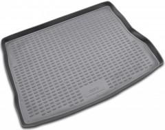 Коврик в багажник для Kia Ceed '06-12 хетчбэк, полиуретановый (Novline / Element) серый