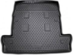 Коврик в багажник для Lexus LX 570 '08- (7 мест, длинный) полиуретановый (Novline) черный