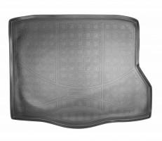Коврик в багажник для Mercedes CLA-Class '13-, полиуретановый (NorPlast) черный