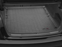 Коврик в багажник для Audi A6 '11-14 седан, резиновый (WeatherTech) черный