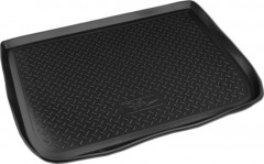 Коврик в багажник для Citroen C4 Picasso '06-13, полиуретановый (NorPlast) черный