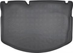 Коврик в багажник для Citroen C3 '10-16, полиуретановый (NorPlast) черный
