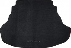 Коврик в багажник для Toyota Camry V50/55 2011 - 2017 (2.5 и 3.5L), текстильный черный