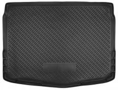 Коврик в багажник для Nissan Qashqai '14-, резино/пластиковый (NorPlast) черный