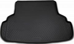 Коврик в багажник для Suzuki SX4 '06-14 седан, полиуретановый (Novline / Element) черный