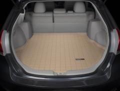 Коврик в багажник для Toyota Venza '10-16, резиновый (WeatherTech) бежевый