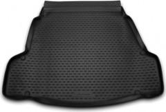 Фото 1 - Коврик в багажник для Hyundai i40 '12- седан, полиуретановый (Novline) черный