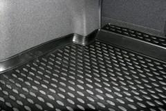 Фото 5 - Коврик в багажник для Hyundai i40 '12- седан, полиуретановый (Novline / Element) черный