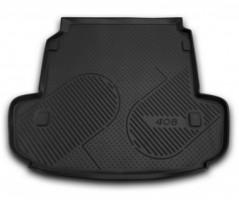 Коврик в багажник для Peugeot 408 '12-, полиуретановый (Novline / Element) черный