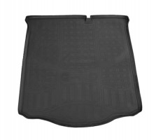 Коврик в багажник для Citroen C-Elysee '13-, полиуретановый (NorPlast) черный