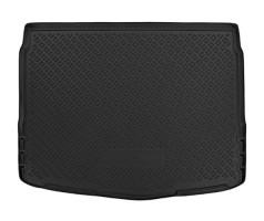 Коврик в багажник для Nissan Qashqai '14-17, полиуретановый (NorPlast) черный