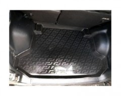 Коврик в багажник для Honda CR-V '02-06, резино/пластиковый (Lada Locker)