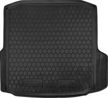 Фото 1 - Коврик в багажник для Skoda Octavia A7 '13- седан, резиновый (AVTO-Gumm)