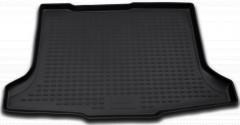 Коврик в багажник для Suzuki SX4 '06-14 хетчбэк, полиуретановый (Novline / Element) черный
