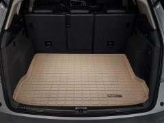 Коврик в багажник для Audi Q5 '08-17, резиновый (WeatherTech) бежевый