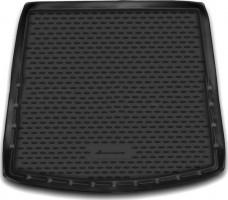 Коврик в багажник для Mitsubishi Outlander '12- (с органайзером), полиуретановый (Novline / Element) черный