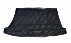 Коврик в багажник для Kia Rio '11-15 хетчбэк, резино/пластиковый (Lada Locker)