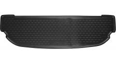 Коврик в багажник для Kia Sorento '15- (7 мест), короткий полиуретановый (Novline / Element) черный