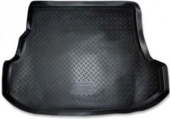 Коврик в багажник для Subaru Forester '03-08, полиуретановый (NorPlast) черный