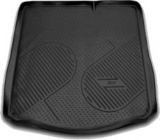 Коврик в багажник для Peugeot 301 '12-, полиуретановый (Novline / Element) черный