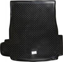 Коврик в багажник для BMW 5 E39 '96-03, седан, резино/пластиковый (NorPlast) черный
