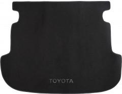 Коврик в багажник для Toyota Corolla '02-07 универсал, текстильный черный