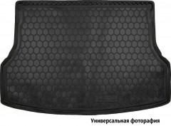 Коврик в багажник для Geely GC7 '15- седан, резиновый (AVTO-Gumm)