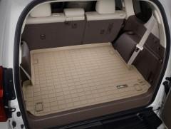 Коврик в багажник для Lexus GX 460 '09-, 7 мест, резиновый (WeatherTech) бежевый