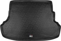 Коврик в багажник для Hyundai Accent (Solaris) '11-17 седан, резиновый, не складывающееся зад. сидение (Lada Locker)