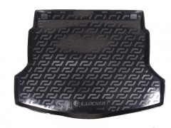 Фото 1 - Коврик в багажник для Honda CR-V '12-17, резино/пластиковый (Lada Locker)