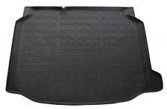 Коврик в багажник для Seat Leon '12-, нижний, полиуретановый (Norplast)
