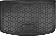 Коврик в багажник для Kia Rio '15-17 хетчбек, с органайзером, резиновый (AVTO-Gumm)