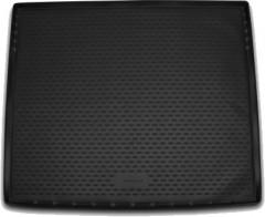 Коврик в багажник для Cadillac Escalade '14-, полиуретановый, длинный (Novline / Element) черный