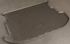 Коврик в багажник для Subaru Impreza '07-12 хетчбэк, полиуретановый (NorPlast) черный
