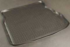 Коврик в багажник для Geely CK '06-, резино/пластиковый (Norplast)