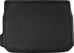 Коврик в багажник для Peugeot 2008 '13-, полиуретановый (NorPlast) черный