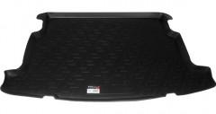 Коврик в багажник для Toyota Corolla '02-07 хетчбэк, резино/пластиковый (Lada Locker)