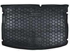 Коврик в багажник для Kia Rio '15-17 хетчбек, без органайзера, резиновый (AVTO-Gumm)