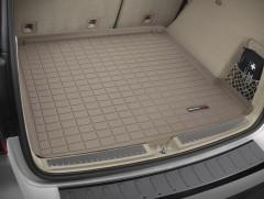 Коврик в багажник для Mercedes ML-Class/GLE W166 '11-18, резиновый (WeatherTech) бежевый