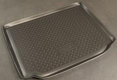 Коврик в багажник для Skoda Roomster '07-, полиуретановый (NorPlast) черный