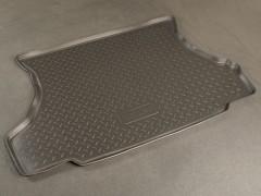 Коврик в багажник для Lada (Ваз) 2108-2109, 2113, полиуретановый, люкс (NorPlast) черный