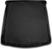 Коврик в багажник для Mazda 6 '13- седан, полиуретановый (Novline / Element) черный