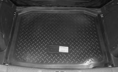 Коврик в багажник для Skoda Fabia II '07-14 хетчбэк, резино/пластиковый (Norplast)