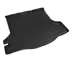 Коврик в багажник для Renault Logan '13- седан, полиуретановый (NorPlast) черный