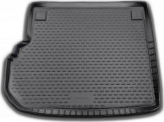 Коврик в багажник для Mercedes GLK-Class X204 '09-15, полиуретановый (Novline / Element) черный