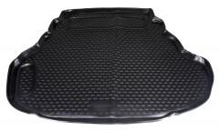 Коврик в багажник для Toyota Camry V50/55 2011 - 2017 (2.5 и 3.5L), полиуретановый (Novline / Element) черный