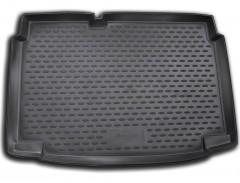 Коврик в багажник для Volkswagen Polo '09-17 хетчбэк, нижний, полиуретановый (Novline / Element) черный